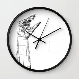 Planar Hand Wall Clock