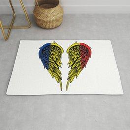 Chad Romania wings art Rug
