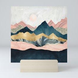 Plush Peaks Mini Art Print