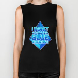 Blue Biker Tank
