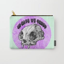 In Cats We Trust Carry-All Pouch