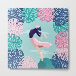 Una bailarina que sueña con volar // A dancer who dreams of flying Metal Print