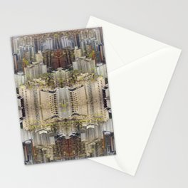Mirror of the city Stationery Cards