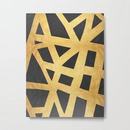 Golden expression II Metal Print