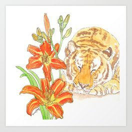 Tiger's Lily Dream Art Print