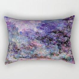 Monet : The House Seen From the Rose Garden Rectangular Pillow