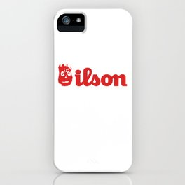 Wilson. Cast away on a deserted remote island iPhone Case