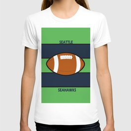 Seahawks Fans, Seattle Football T-shirt