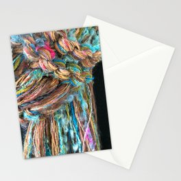 Knitter 7: Fiber is Good for You Stationery Cards