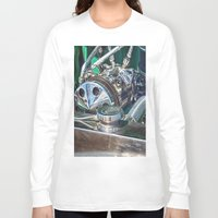 ford Long Sleeve T-shirts featuring Ford V8 by Shalisa Photography