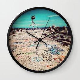 Tattoo Jetty Wall Clock