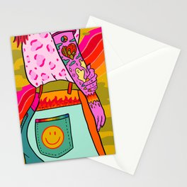 Smiley Booty Stationery Cards