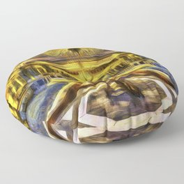 Vincent Van Gogh Palace Floor Pillow