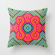 Cosmic Vibrations Within Throw Pillow