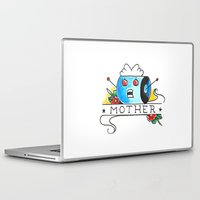 mother Laptop & iPad Skins featuring Mother  by Christopher Chouinard