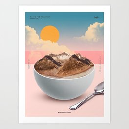 Whats for Breakfast Art Print