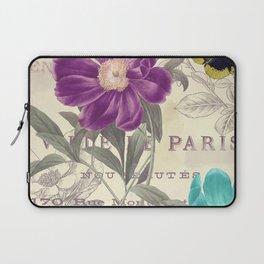 Petals of Paris II Laptop Sleeve