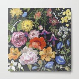Baroque Garden Metal Print