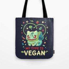 Vegan Type Tote Bag