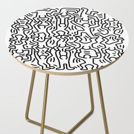 Homage to Keith Haring Acrobats Side Table