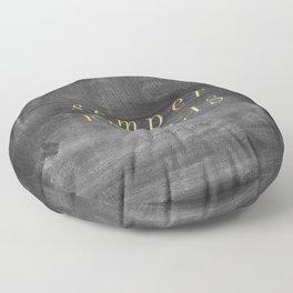 Semper Fidelis Floor Pillow