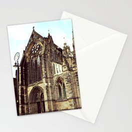 glasgow cathedral medieval cathedral Stationery Cards