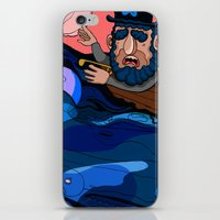 house md iPhone & iPod Skins featuring Ahab, MD by Birdcap