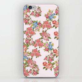 Pink Rose Romance iPhone Skin