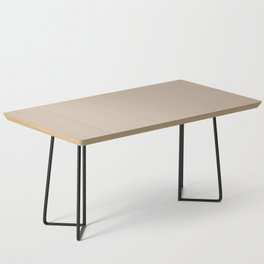 Sherwin Williams Trending Colors of 2019 Dhurrie Beige SW 7524 Solid Color Coffee Table