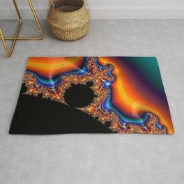 Coastal Sunset - Fractal Art Rug