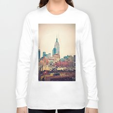 NYC Vintage style Long Sleeve T-shirt