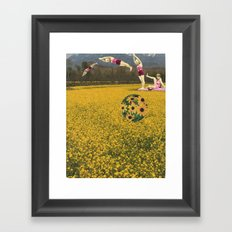 Somebody spoke and I went into a dream Framed Art Print
