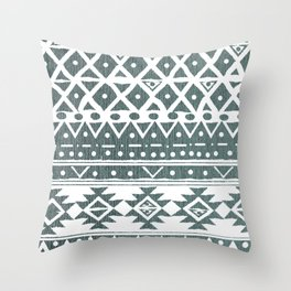 NORTH WIND TRIBAL Throw Pillow