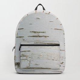 Birch bark pattern Backpack
