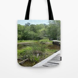 Swampy Path Tote Bag