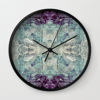 nick cave Wall Clocks featuring Cave by jbjart