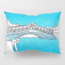 Venice Rialto Bridge Pillow Sham