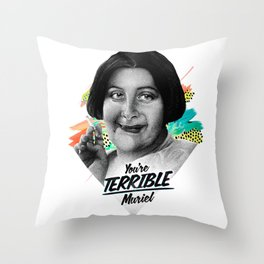 TERRIBLE Throw Pillow