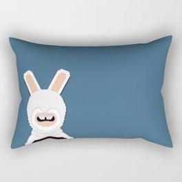 Assasin Rabbit Rectangular Pillow