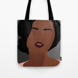 Mia - minimal, abstract portrait of an African American woman Tote Bag
