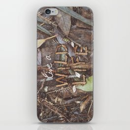 Live a Wild Life iPhone Skin