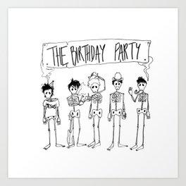 The Birthday Party Art Print
