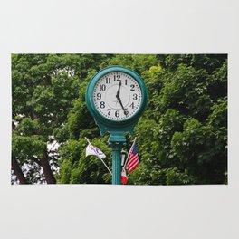Put-in-Bay Clock II (horizontal) Rug