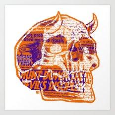 Satanic Panic Art Print