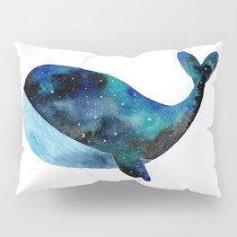 Galaxy whale Pillow Sham