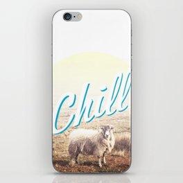 Sheep - chill iPhone Skin