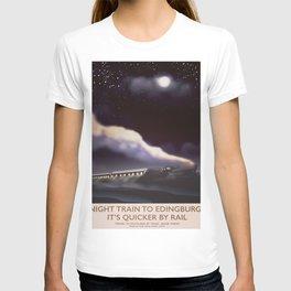 Night Train to Edinburgh T-shirt