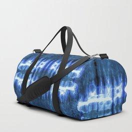 Lapis Shibori Stripe Duffle Bag