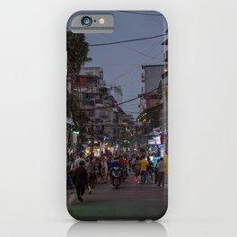 Streets of Hanoi iPhone Case