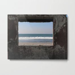 A Frame of Ruins Metal Print